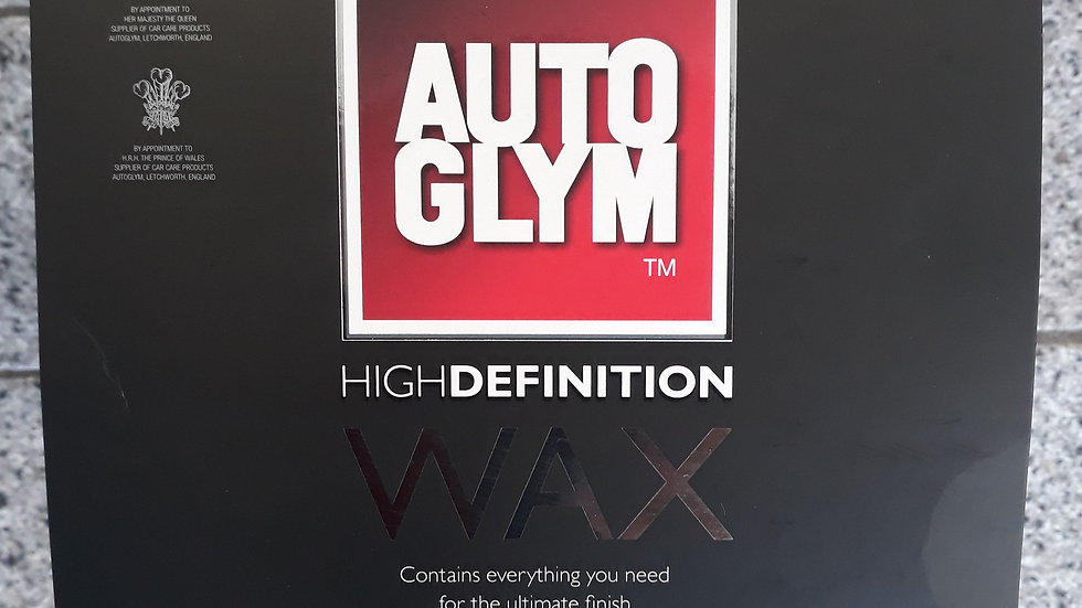 Auto Glum high definition car wax