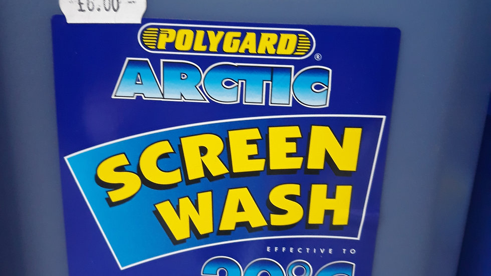 concentrate screen wash great for freezing conditions