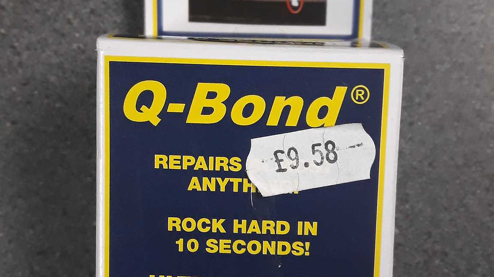 Q Bond Repairs almost anything .