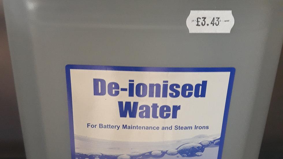 5l De-ionised water