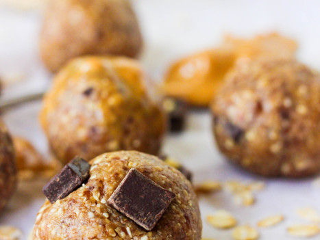 Peanut Butter Chocolate Chip Cookie Dough Bites
