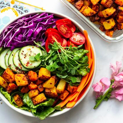 Sweet + Spicy Fried Potatoes (Air-Fryer Recipe)