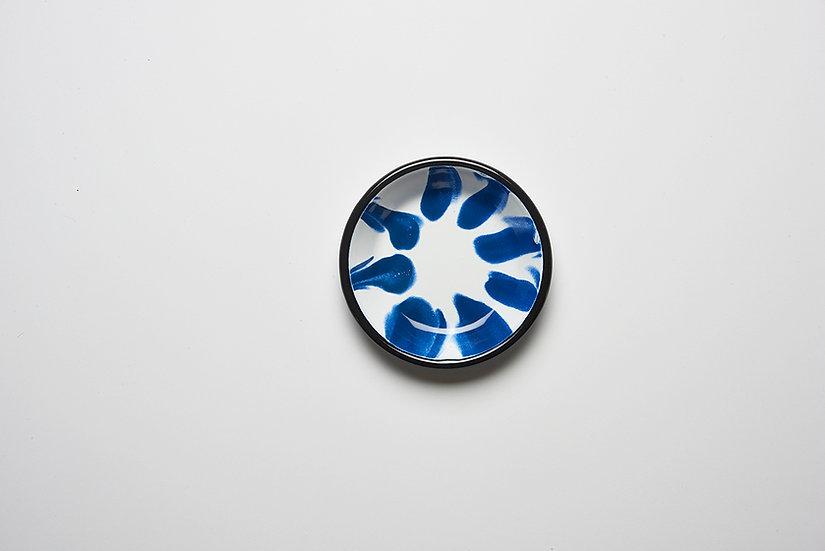 Mini Plato Enlozado Azul