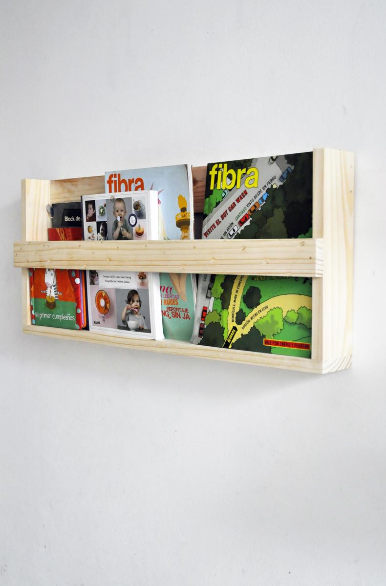 Librero y revistero
