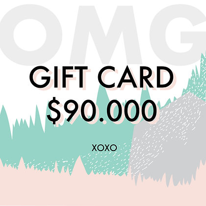 Gift Card $90.000