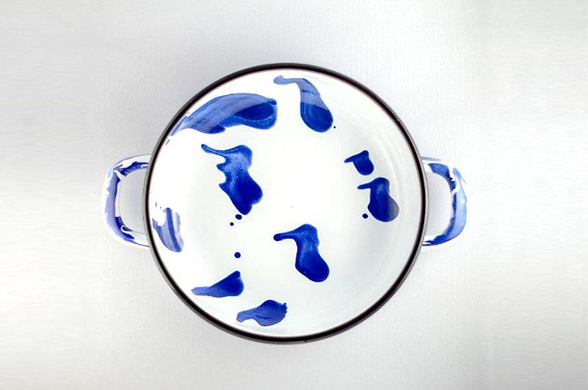 Paila Enlozada Brush Azul