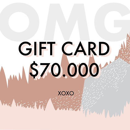 Gift Card $70.000