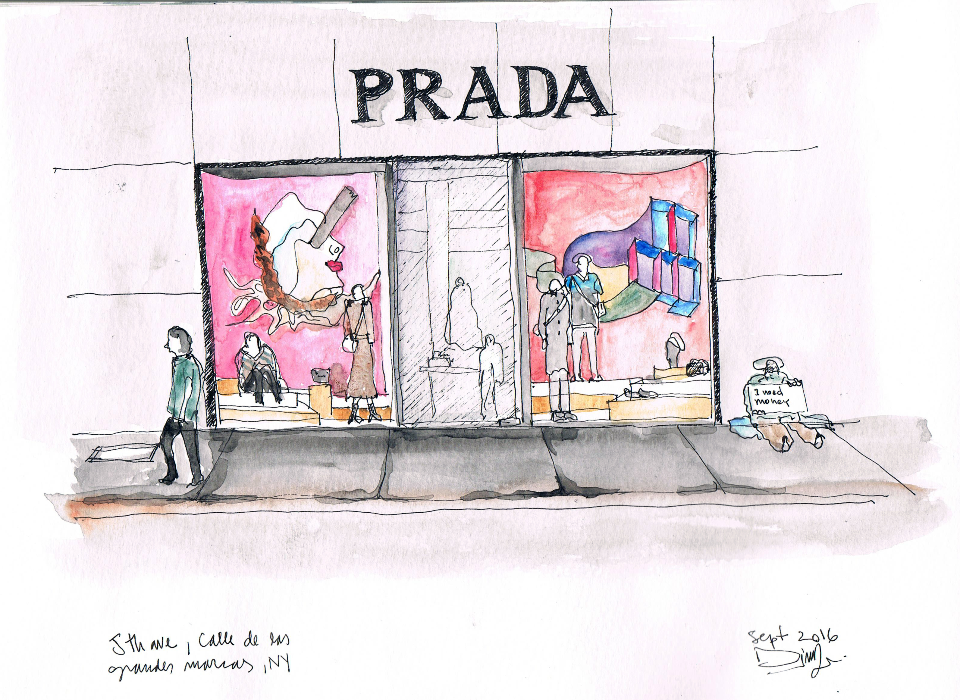 Prada, 5th ave