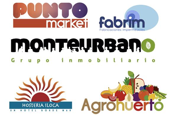 Logotipos a distintas empresas