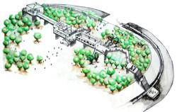 Plaza Glories, proyecto