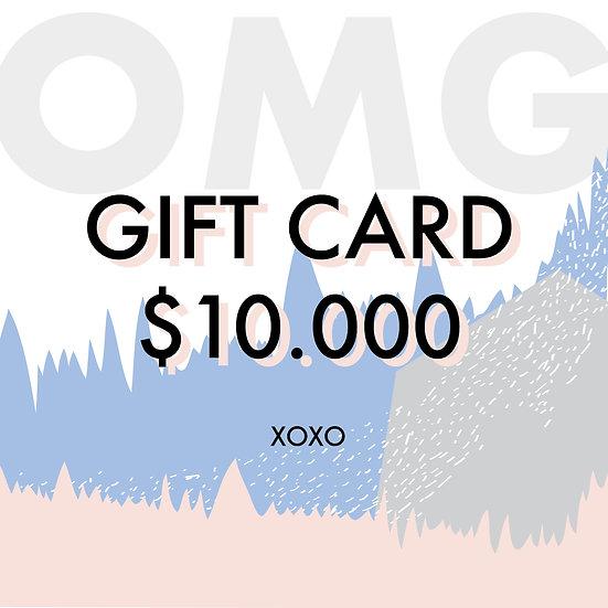 Gift Card $10.000