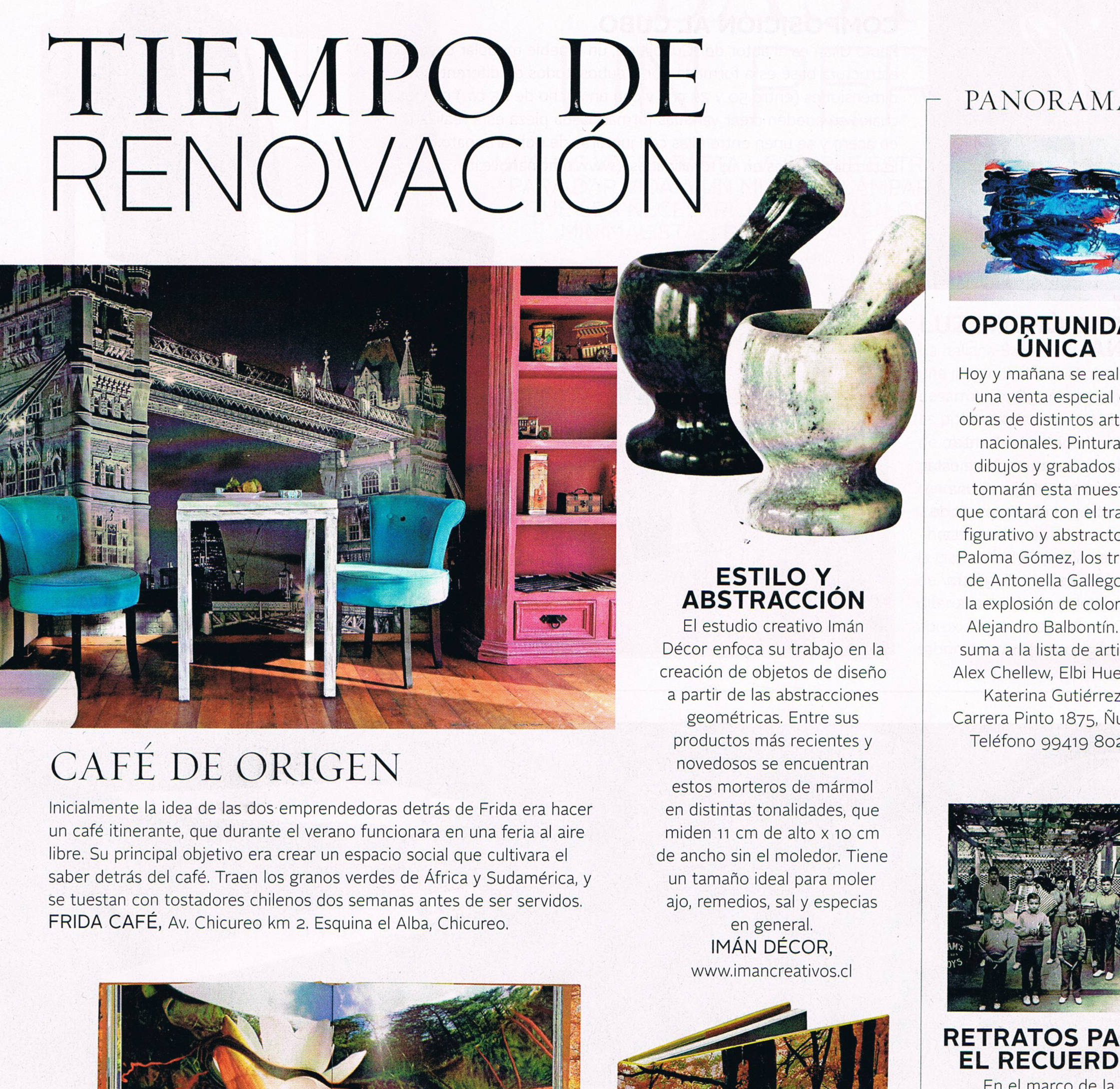 Vivienda y Decoración Abril 2016