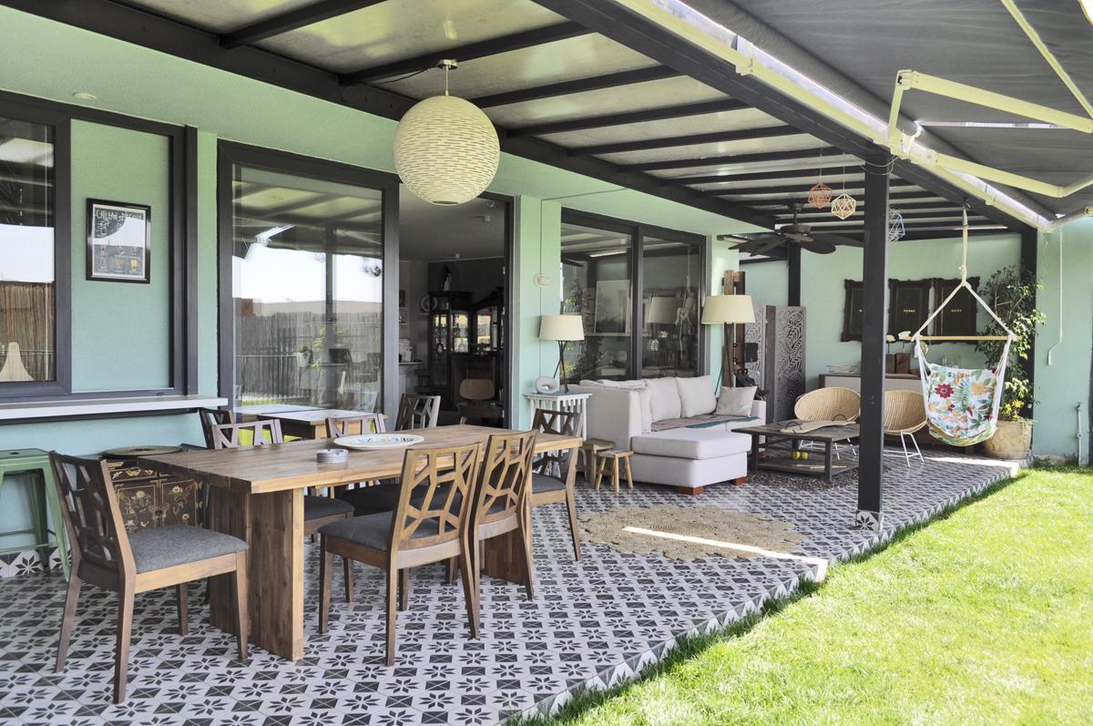 Terraza Casa Singular