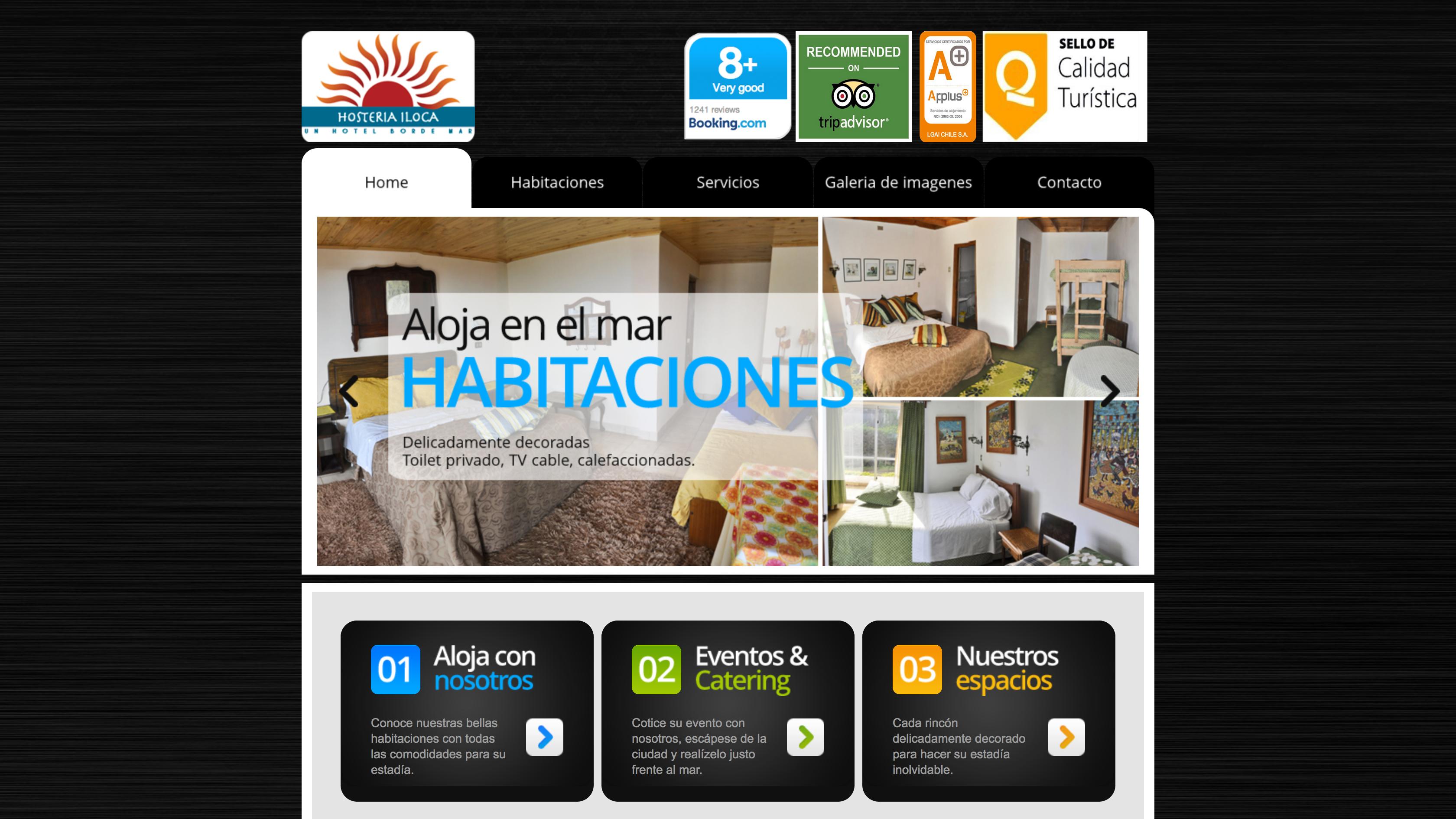 www.hosteriailoca.cl