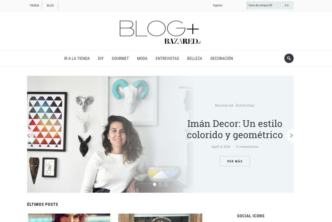 Blog Bazar ed Marzo 2016