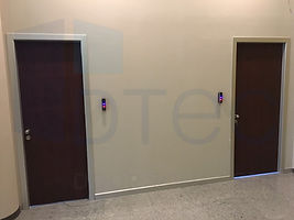 heavy duty laminated wooden doors