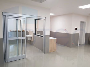 telescopic ICU Doors