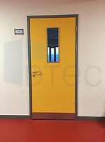 laminat sınıf kapısı