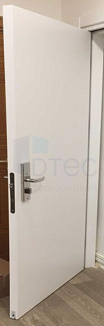 fire proof lead lined door