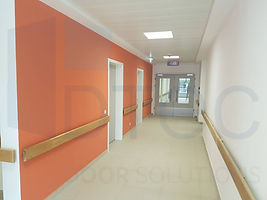 yoğun kullanıma uygun hastane iç kapıları