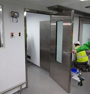 ameliyathane kapısı - hermetik kapı