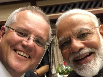 India and Australia New Defence Partnership with an Eye to China?