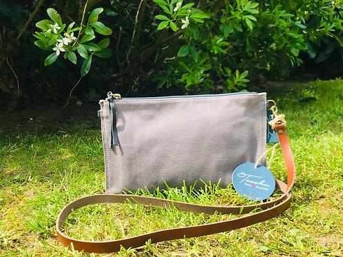 Pocket Bag - Natural - Grey Pat