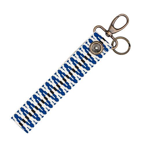 Porte-Clés BIG - ZigZag Bleu - PERSONNALISABLE