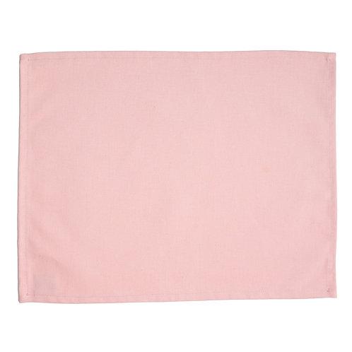 LOT de 6 Sets de Table ROSE PALE - 100% Coton - PERSONNALISABLE
