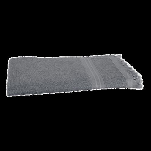 Serviette de Plage XL - Anthracite - Personnalisable