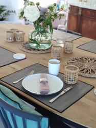 Sets de Table Lin enduit - Personnalisable - Lovely Taacha
