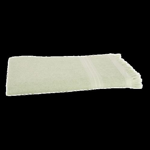 Serviette de Plage XL - Vert Clair - Personnalisable