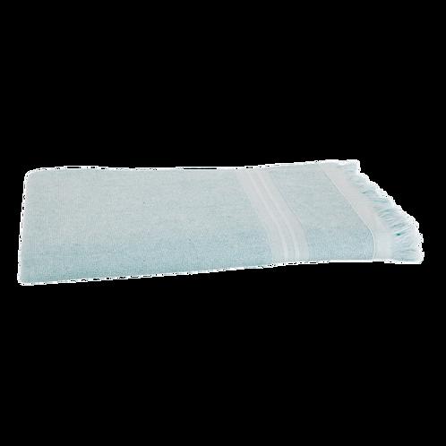 Serviette de Plage XL - Bleu Clair - Personnalisable