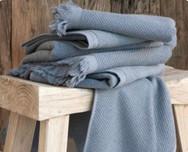 Serviette de Plage XL Lin et Coton - Personnalisable - Lovely Taacha