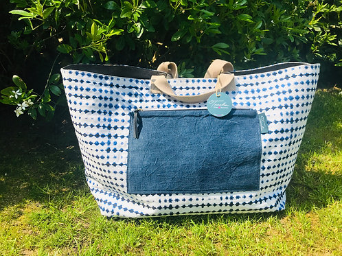Daily Bag Big - Jeans - Sea Anna