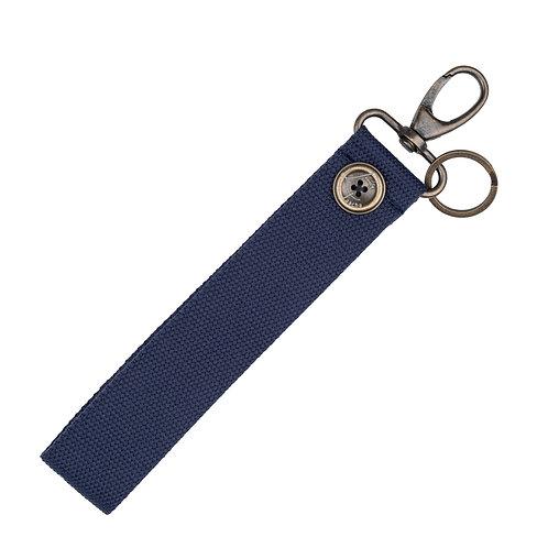 Porte-Clés BIG -  Uni - Bleu - PERSONNALISABLE