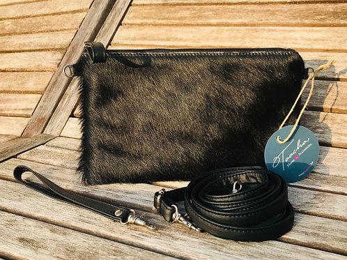 Mini Pocket BAG - COW - BLACKY