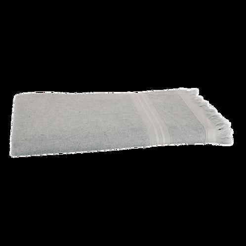 Serviette de Plage XL - Gris Clair - Personnalisable