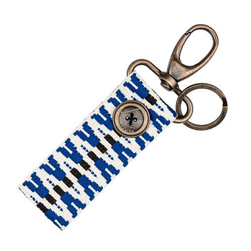 Porte-Clés MINI - ZigZag Bleu