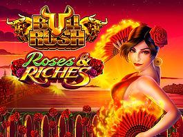 Logo Large - Roses & Riches - Bull Rush.