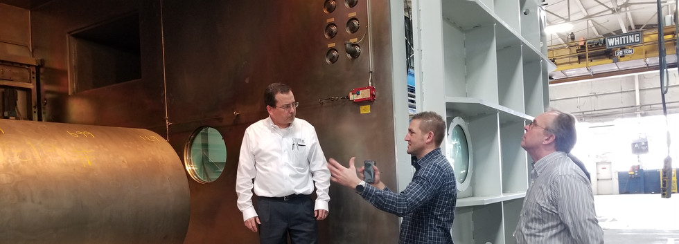 CMISP B2B Networking Tour of Sciaky Inc.
