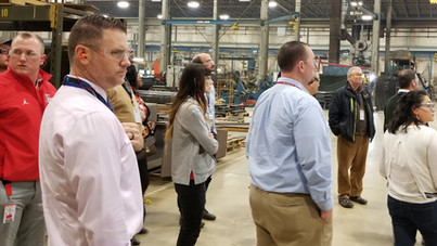 CMISP hosts local high school leaders for tour of Whiting Corporation