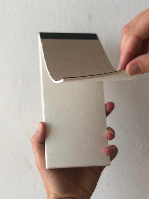 פנקס ניירות לצבעי מים