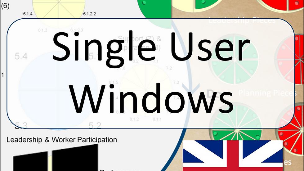 ISO45001 Single-User Game for Windows
