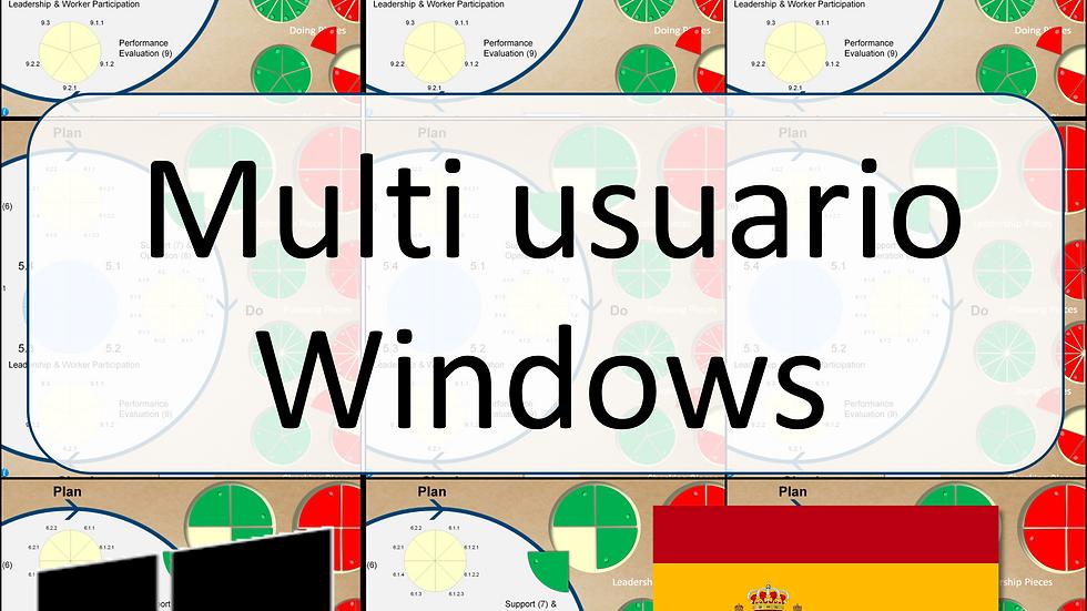 ISO45001 Multi-User Game for Windows (Spanish)