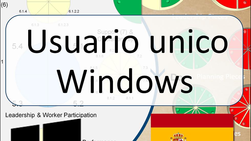 ISO45001 Single-User Game for Windows (Spanish)