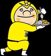 ギノデンマン黄色_沖縄で太陽光発電と蓄電池といえば宜野湾電設ギノデン