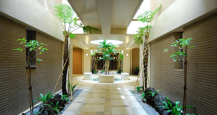 沖縄で土地活用と賃貸経営といえばアーキテクトデザイントォーラス 庭