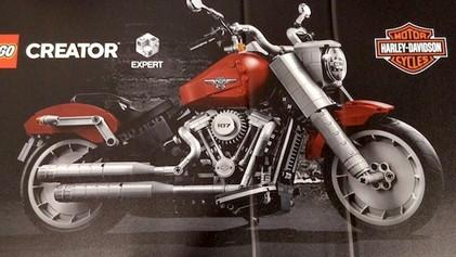 La Harley-Davidson Fat Boy: Lo nuevo de LEGO