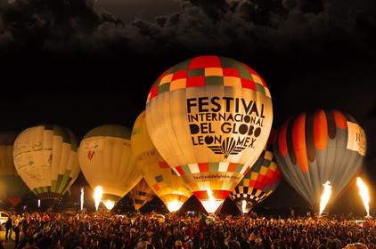 Todo listo para el Festival del Globo León